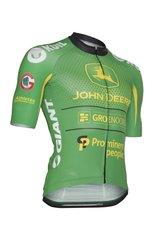 Wielershirt Aero NWVG John Deere - groen