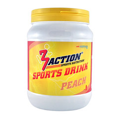 3Action Sports Drink Peach 500gr.