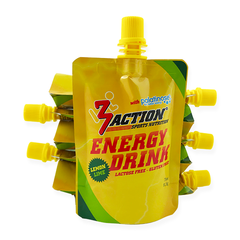3Action Energy Drink Gel Lemon 5+1