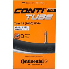 Continental binnenband Tour 28 (700C) Wide 28 x 1.75 - 2.50 hv 40mm