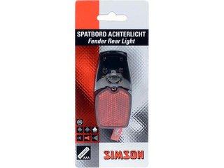 Simson Batterij Spatbord Achterlicht LED
