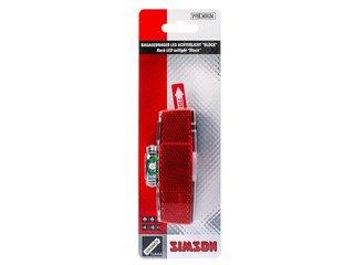 Simson Batterij Bagagedrager achterlicht ''Block'' 1 LED on/off