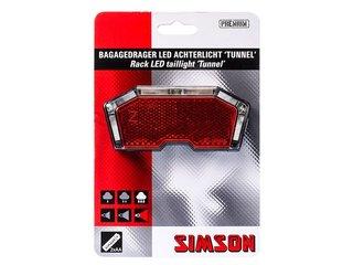 Simson Batterij Bagagedrager achterlicht ''Tunnel''