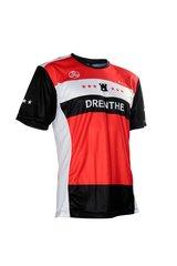 Fortissima Runningshirt - Heren - Drenthe - Zwart/Rood